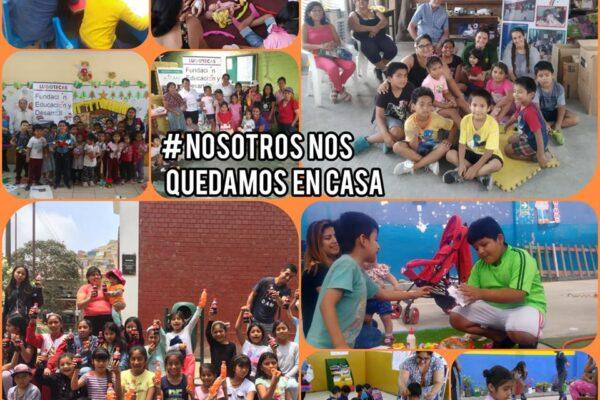 Jugando contra el coronavirus: las redes de ludotecas en el Perú